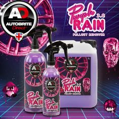 Autobrite Purple Rain 3.0 Iron Decontamination Remover