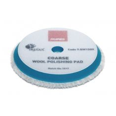 Rupes 70mm Blue Coarse Wool Polishing Pad