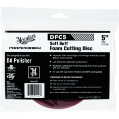 Meguiar's DFC5 Soft Buff DA Foam Cutting Disc