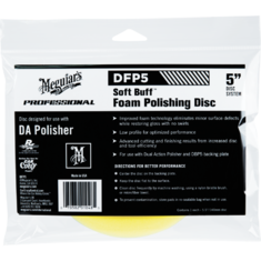 Meguiar's DFP5 Soft Buff DA Foam Polishing Disc