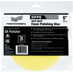 Meguiar's DFP6 Soft Buff DA Foam Polishing Disc