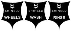 Shineld Bucket Sticker Set