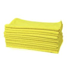 Shineld All-Purpose Microfiber Towels Yellow 12kpl