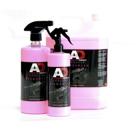 autobrite pink sheen trim dressing shineld. Black Bedroom Furniture Sets. Home Design Ideas